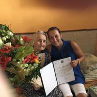 90. évesek köszöntése